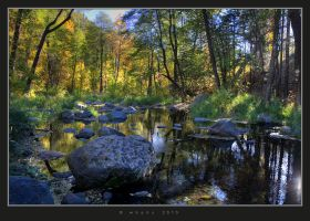 Fall at Oak Creek by HogRider