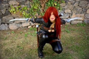 Katarina cosplay3 - Dragonstrace by DragonsTrace