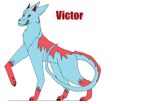 New Character: Victor by myathewolf