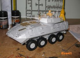 LAV-25 finished.........more less by Shay-Tank-Dragon-41