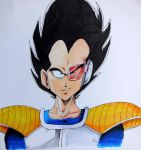 Vegeta by KekeIllustrations