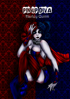 Pin Up (Harley Quinn New 52) by hannamaia