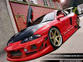 Mitsubishi Eclipse GSX by Active-Design