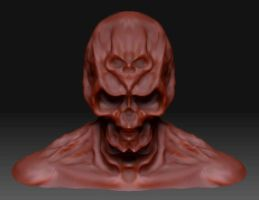 redskull3D by morganian