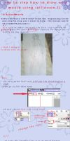 tutorial step by step how to draw with mouse 1 by Lara-1992