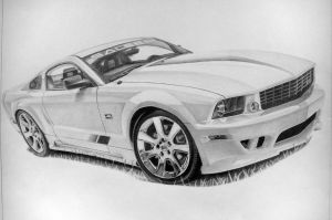 Saleen Mustang GT by industrialrevelation
