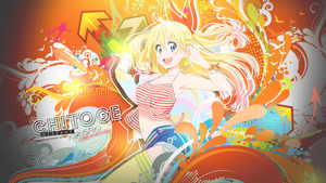 Kirisaki Chitoge Wallpaper by tammypain