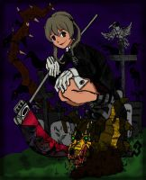 Maka and the Ravens by spiralDorgapy