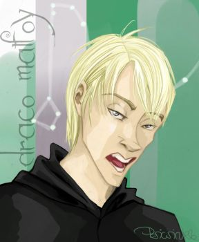 Draco Malfoy 1 by periwinkle-blue