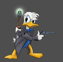 Captain Quack Harkness by virgiliArt