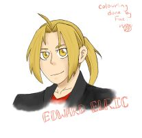 Edward Elric Collab by AntiquaFaerie