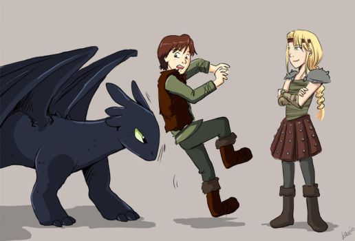 Training Your Dragon by laurbits