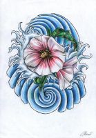 Hibiscus by 9Rayne2