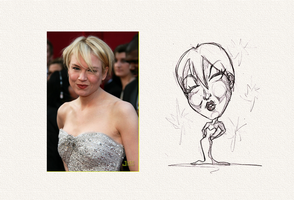 DAC-Renee Zellweger-sketch by Chansey123