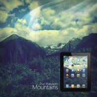 iPad Mountains Wallpaper by Martz90
