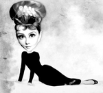 Iconic Audrey by TheGalleryOfEve