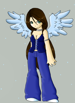 Angel - Colored by Esperesa