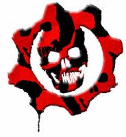 Gears of War Red and Black by Cochran-BananaHands