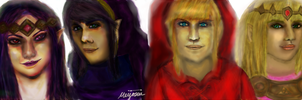 A Link Between Worlds: Realistic by meijosui