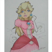18 Princess Peach by kaicastle