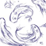 Fish Sketches by horselover146515