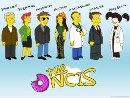NCIS - Simpsons version by psychopath94