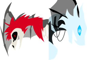 Griffia and Kahnun Vector (Wallpaper WIP) by Tenebrus-Liepard