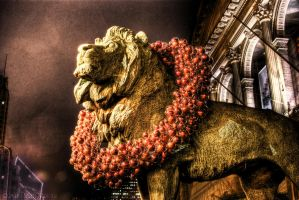 Chicago Lions Wreath VII photo by spudart