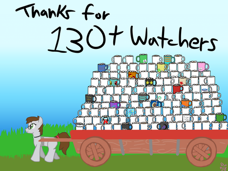 THANK YOU FOR 130+ WATCHERS! :D by PickFairy