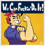 We Can F*cking Do It! by art-ikaro