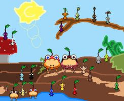 Pikmin Idea preview by CivilWars