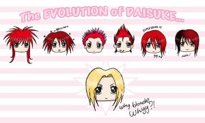 The EVOLUTION of Daisuke by Paoru