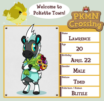PKMN Crossing App - Lawrence by BrainDeadMareep