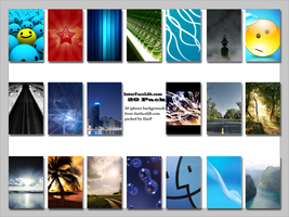 20 iphone pack by IlanF