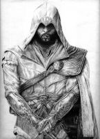 Ezio Auditore by JW1995