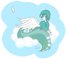 Light as a feather by Tinypaperdresses