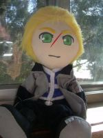 Seifer Almasy plush by Plushie-Pandemonium