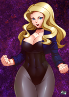 DC GIRLS: Black Canary by jadenkaiba
