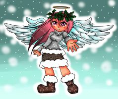 Master Saruwatari's OC Zephi (angel form) by jazzy2cool