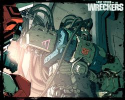 Wreckers 3 Wallpaper by dcjosh