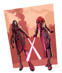 Sith Duo by vampiriism