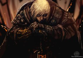Thorolf Svarsson - Viking OC by juliodelrio