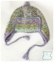Sugar and Spice Ear-Flap Hat 1 by moofestgirl