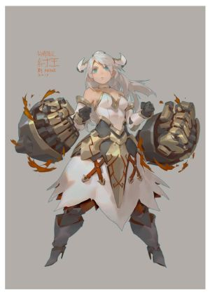 IRONFIST by Cushart