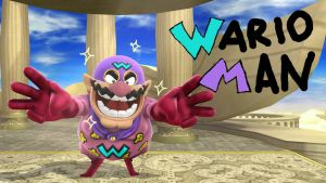 The Courageous (and Smelly) Wario Man by rabbidlover01