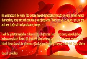 My Wife's Sickle Cell Statement by 80sUnleashed
