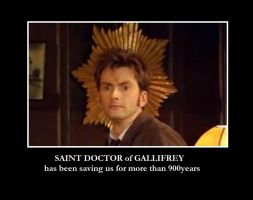 Saint Doctor of Gallifrey by Feliks-Grell