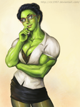 She-Hulk by clc1997 by cerebus873