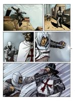 Assassin's creed color page 2 by gianlucatestaverde