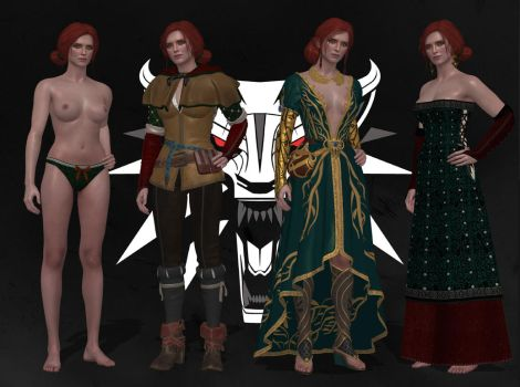 The Witcher 3 - Triss Merigold by EvilPowny